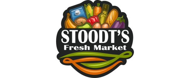 A theme logo of Stoodt's Fresh Market